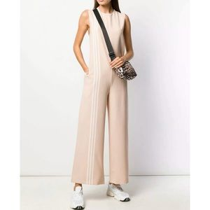 Adidas Originals Tlrd Jumpsuit In Ash Pearl